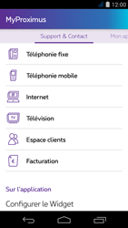 Acer Liquid Jade S - Applications - MyProximus - Étape 24