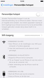 Apple iPhone 7 (Model A1778) - WiFi - Mobiele hotspot instellen - Stap 4