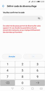 Huawei Mate 10 Pro - Sécuriser votre mobile - Activer le code de verrouillage - Étape 9