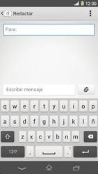 Sony Xperia Z1 - Mensajería - Escribir y enviar un mensaje multimedia - Paso 5
