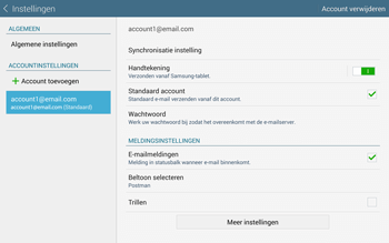 Samsung Galaxy Tab S 10.5 4G (SM-T805) - E-mail - Instellingen KPNMail controleren - Stap 10
