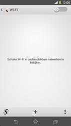 Sony D2303 Xperia M2 - WiFi - Verbinden met een netwerk - Stap 5
