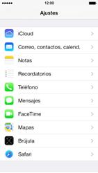 Apple iPhone 5s - E-mail - Configurar correo electrónico - Paso 3
