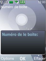 Nokia 7210 supernova - Messagerie vocale - Configuration manuelle - Étape 6