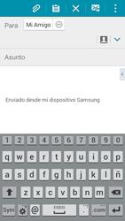 Samsung A500FU Galaxy A5 - E-mail - Escribir y enviar un correo electrónico - Paso 8