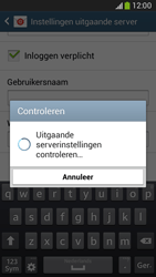 Samsung G386F Galaxy Core LTE - E-mail - Account instellen (POP3 met SMTP-verificatie) - Stap 16
