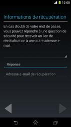 Sony Xpéria Z1 - Premiers pas - Créer un compte - Étape 17