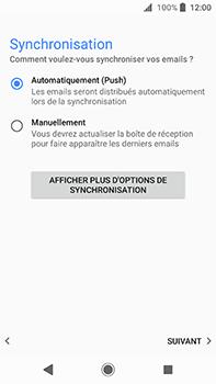 Sony Xperia XA2 Ultra - E-mail - Configurer l