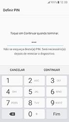 Samsung Galaxy A3 (2017) - Segurança - Como ativar o código de bloqueio do ecrã -  8
