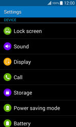 Samsung G355 Galaxy Core 2 - Voicemail - Manual configuration - Step 4