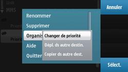 Nokia N97 - MMS - configuration manuelle - Étape 13