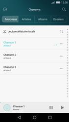 Huawei P8 Lite - Photos, vidéos, musique - Ecouter de la musique - Étape 6