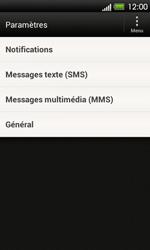 HTC T320e One V - SMS - Configuration manuelle - Étape 4