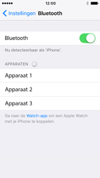 Apple iPhone 5s iOS 10 - Bluetooth - Koppelen met ander apparaat - Stap 5
