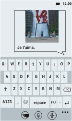 HTC C110e Radar - MMS - envoi d'images - Étape 7