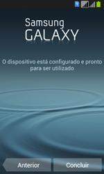 Samsung Galaxy Fresh Duos - Primeiros passos - Como ligar o telemóvel pela primeira vez -  19