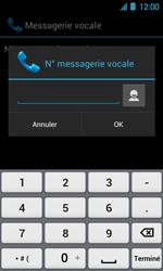 Acer Liquid Glow E330 - Messagerie vocale - Configuration manuelle - Étape 8
