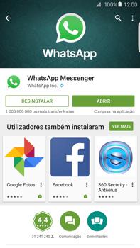 Samsung Galaxy S6 Edge + - Aplicações - Como configurar o WhatsApp -  8