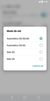 LG G6 - Red - Seleccionar el tipo de red - Paso 6