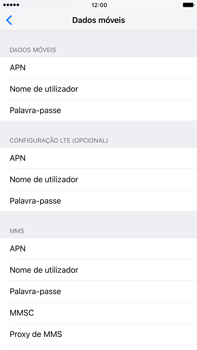 Apple iPhone 7 Plus - Internet no telemóvel - Como configurar ligação à internet -  7