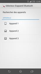 Sony Xperia Z3 Compact - Photos, vidéos, musique - Envoyer une photo via Bluetooth - Étape 11