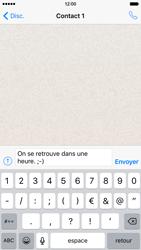 Apple iPhone 6 iOS 9 - WhatsApp - Partager des photos et votre emplacement avec WhatsApp - Étape 8