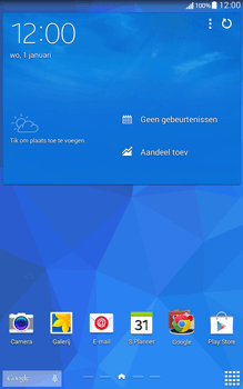 Samsung Galaxy Tab4 8.0 4G (SM-T335) - Applicaties - Account aanmaken - Stap 1