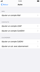 Apple iPhone 8 - iOS 13 - E-mail - Configuration manuelle - Étape 6