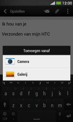 HTC Desire 500 - E-mail - E-mail versturen - Stap 12