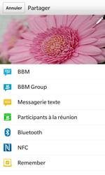 BlackBerry Z10 - Photos, vidéos, musique - Prendre une photo - Étape 10