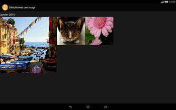 Sony Xperia Tablet Z2 (SGP521) - MMS - envoi d'images - Étape 16