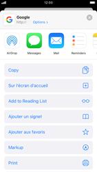 Apple iPhone 8 - iOS 13 - Internet - navigation sur Internet - Étape 5