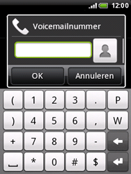 HTC A3333 Wildfire - Voicemail - handmatig instellen - Stap 6