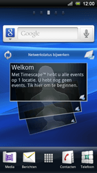 Sony Ericsson Xperia Neo - Netwerk - gebruik in het buitenland - Stap 1