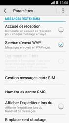 Huawei Ascend Y550 - SMS - Configuration manuelle - Étape 5