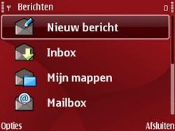 Nokia E63 - E-mail - Handmatig instellen - Stap 6