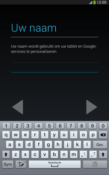 Samsung T315 Galaxy Tab 3 8-0 LTE - Applicaties - Account aanmaken - Stap 6