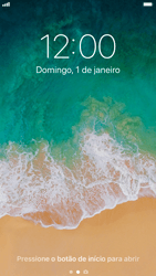 Apple iPhone iOS 11 - Funções básicas - Como reiniciar o aparelho - Etapa 4