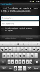 Sony LT26i Xperia S - E-mail - e-mail instellen: POP3 - Stap 5