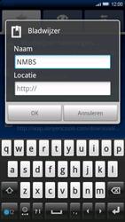 Sony Ericsson Xperia X10 - Internet - internetten - Stap 12