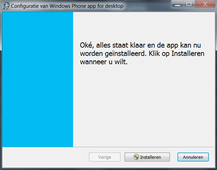 Microsoft Lumia 650 - Software - Download en installeer PC synchronisatie software - Stap 6