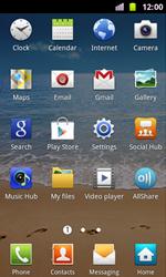 Samsung I8160 Galaxy Ace II - E-mail - Manual configuration - Step 3