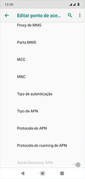 Motorola Moto G7 - Internet (APN) - Como configurar a internet do seu aparelho (APN Nextel) - Etapa 15