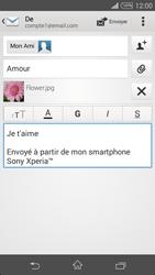 Sony Xpéria Z3 - E-mails - Envoyer un e-mail - Étape 13