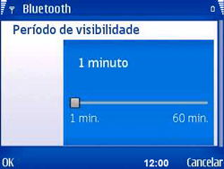 Nokia E5-00 - Bluetooth - Como ajustar configurações do Bluetooth - Etapa 8