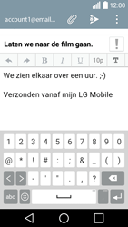 LG H320 Leon 3G - E-mail - e-mail versturen - Stap 9