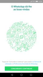 Huawei P10 - Aplicações - Como configurar o WhatsApp -  5