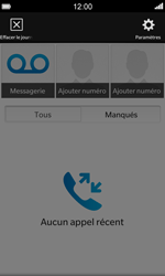 BlackBerry Z10 - Messagerie vocale - configuration manuelle - Étape 5