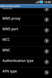 Samsung S5830 Galaxy Ace - Mms - Manual configuration - Step 10