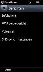 Samsung I8000 Omnia II - Voicemail - handmatig instellen - Stap 6